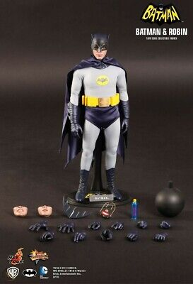 Hot Toys 1966 Batman (Adam West) MMS 218 Classic 1:6 12 Inch Masterpiece Figure