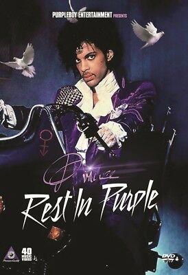 PRINCE REST IN PURPLE 40 MUSIC VIDEOS POP R&B DVD THE REVOLUTION PURPLE RAIN NEW