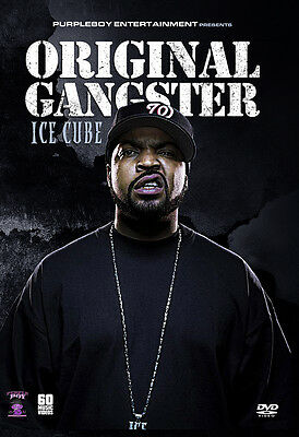 ICE CUBE 62 MUSIC VIDEOS HIP HOP RAP DVD NWA EAZY E DR DRE SCARFACE DMX SNOOP