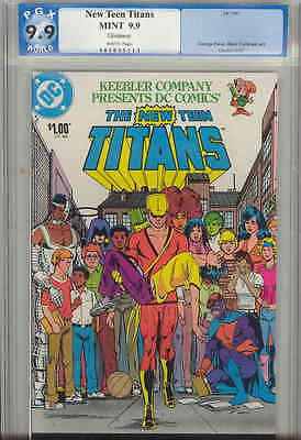New Teen Titans Keebler Drug Iss  1 Cgg Pgx 9 9 Mint   Price Drop