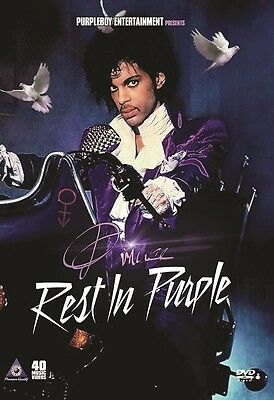 Prince Rest In Purple 40 Music Videos Pop R B Dvd Purple Rain The Revolution