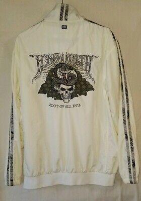 Ecko Unltd Root of All Evil Track Jacket Windbreaker Skull Snake Size Large Skull Track Jacket