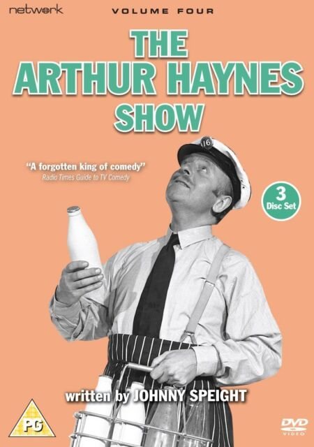 THE ARTHUR HAYNES SHOW Volume 4 (3 Discs) JOHNNY SPEIGHT New/Sealed DVD R2