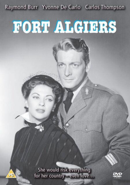 Fort Algiers Classic Film DVD Raymond Burr Yvonne De Carlo Carlos Thompson