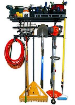 Garage Pro Storage Rack + Shelf G-System Garage Shed Wall Organiser Ski Rack