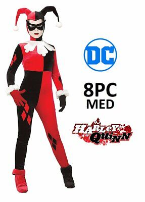 Heroes And Villains Costume (Rubie's Women's DC Heroes and Villains Collection Harley Quinn Costume)