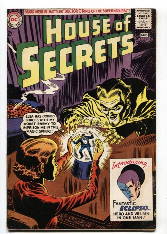 House of Secrets #61 - 1963 - DC - VG+ - comic book