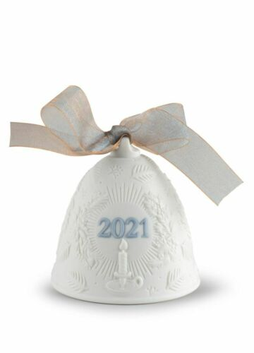 LLADRO LTD EDT.  2021 ANNUAL CHRISTMAS BELL, #18462,  BRAND NEW, MINT & BOXED
