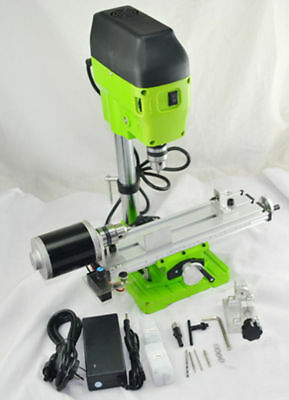 220v 480w Mini Lathe Machine Diy Wood Lathe Mini Bench Drill For Wood Plastic