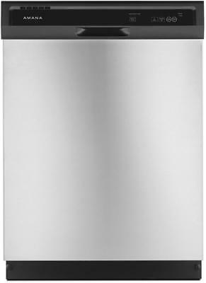 "Amana ADB1400AGS 24"" Built In Full Console Dishwasher Stainless Steel"