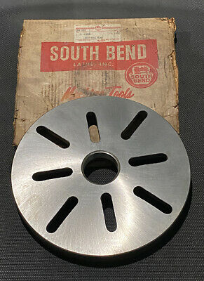 South Bend 10-34 In Threaded Faceplate For 13 In Lathe Ships Free
