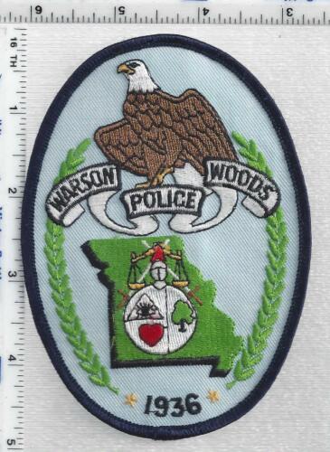 Warson Woods Police (Missouri) 1st Issue Shoulder Patch