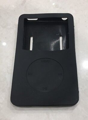 Apple iPod Classic 30 40 60 GB Silicone Case Cover in Black with Strap NEW 60 Gb Ipod 30