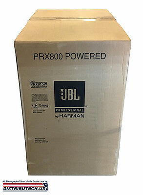 JBL PRX815W 1500 Watt Active 2-Way Speaker with WIFI  segunda mano  Embacar hacia Argentina