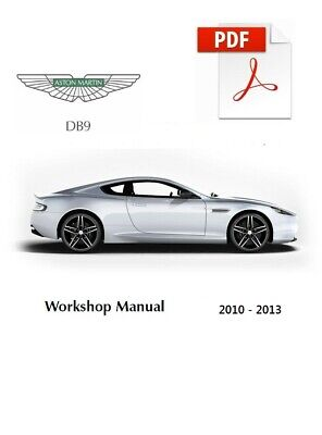 ASTON MARTIN DB9 2010 2011 2012 2013 SERVICE REPAIR MANUAL + WIRING