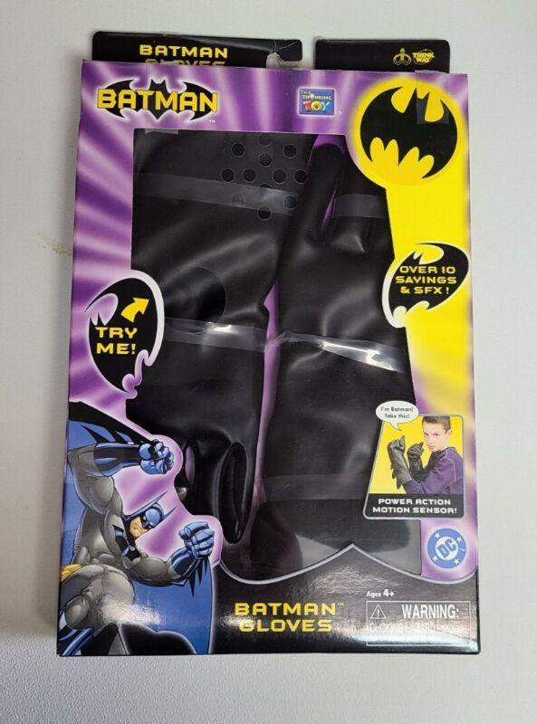 Batman Kids Think Way Gloves - 10 Sayings and SFX- 63122