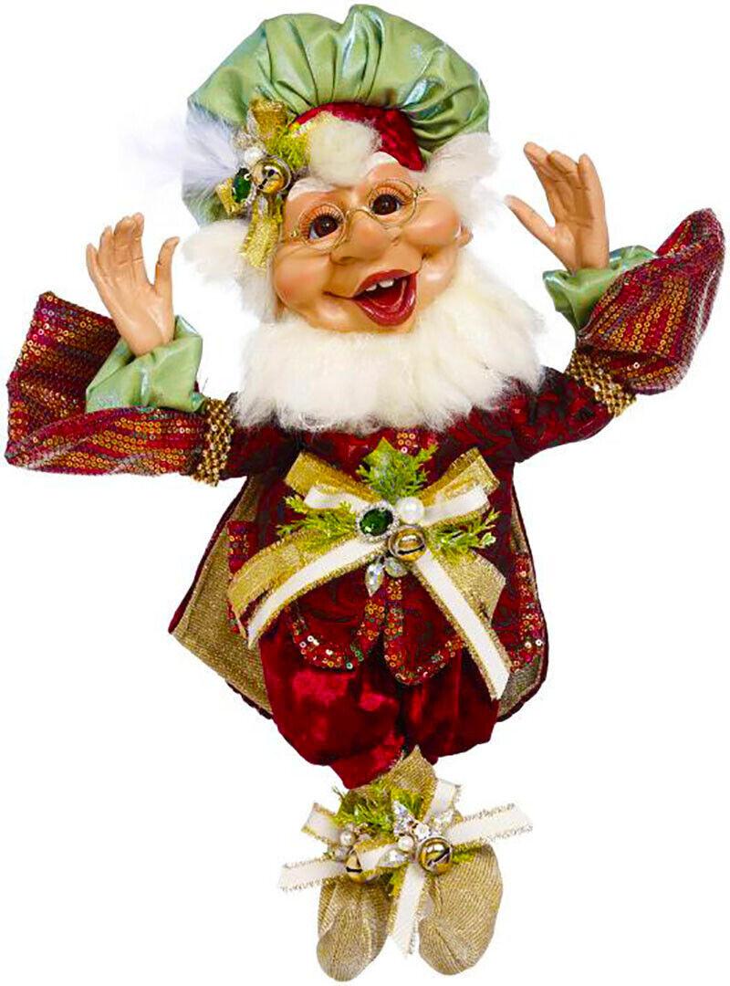 "[Mark Roberts Elves - Gift Giving Elf 51-05558 Medium 16.5"" Figurine </Title]"