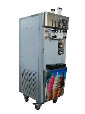Top-grade Commercial Floor-standing Soft Ice Cream Machine Ice Cream Cones Maker