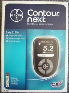 NEW - Bayer Contour Next Blood Glucose Meter Monitoring System