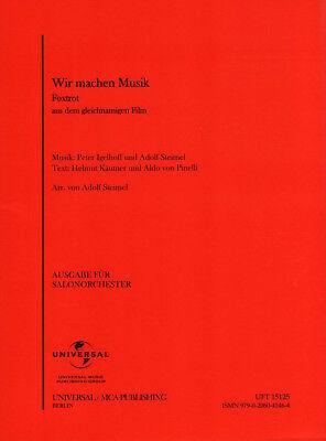 Wir machen Musik Noten für Combo Salonorchester Adolf Steimel (Arr.)