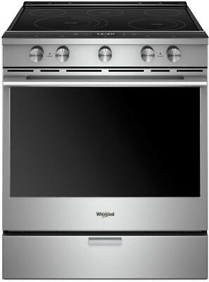 New! Whirlpool WEEA25H0HZ  30 Inch Slide-In Electric Range with True Convection