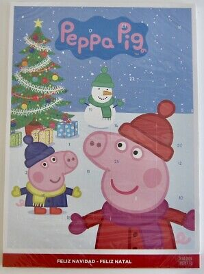 Peppa PIG Chocolate ADVENT Calendar Christmas countdown FREE SHIP