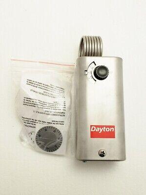 New Dayton 2nnt2 Line Voltage Mechanical Thermostat