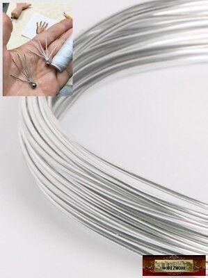 M01026 MOREZMORE Soft Annealed Aluminum Finger Armature Wire 18 GA 1mm DWS