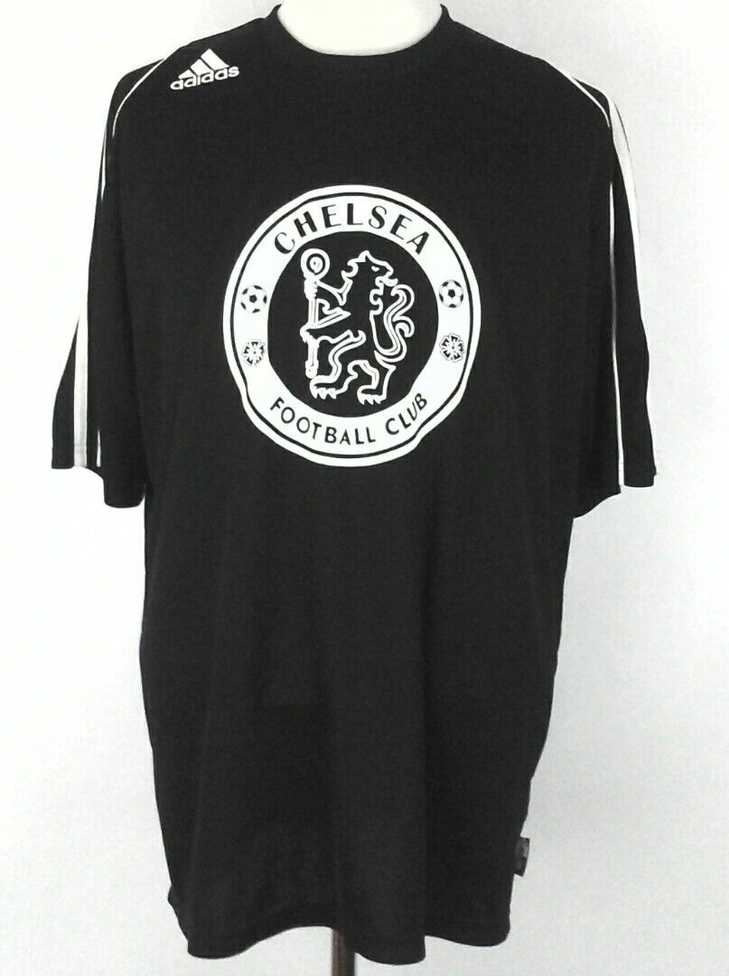 0c04d116e951c ADIDAS Jersey Athletic SHIRT CHELSEA  8 FUTBOL SOCCER Black XL RARE ...