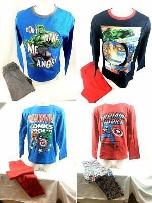 Avengers Marvel Pyjama lang Kinder Jungen Gr 104 116 128 140