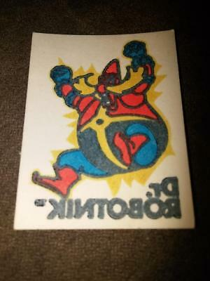 Sonic The Hedgehog Dr Robotnik Temporary Tattoo Cracker Jack Prize 1993 SEGA](Sonic The Hedgehog Tattoo)