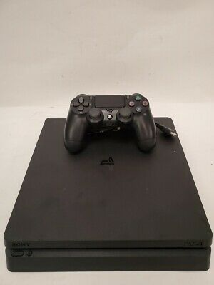 Sony PS4 Slim PlayStation 4 1TB Console CUH-2215B - Jet Black 2/L274631A