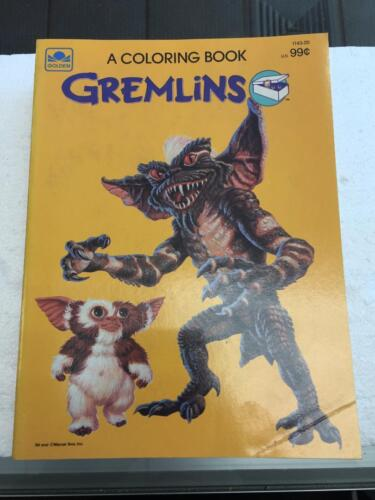 1984 GREMLINS Color and Activity Book