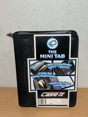 Mini Tab Case It 3 Ring Binder With 1 Capacity