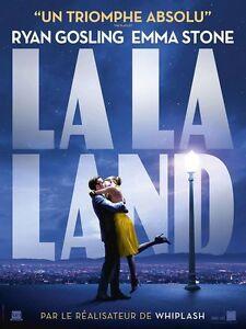 LA LA LAND Affiche Cinéma / Movie Poster Damien Chazelle Emma Stone Ryan Gosling