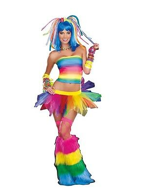 New Kandi Kid Sexy Women's Costume by Dreamgirl 8877 Rave Club Costumania](Rave Costumes For Women)