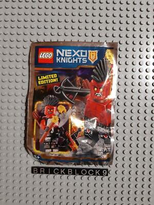 LEGO NEW Nexo Knights Foil Pack Polybag Lava Warrior