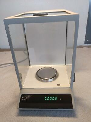 Mettler Ae 200 Analytical Balance 200g 0.1mg