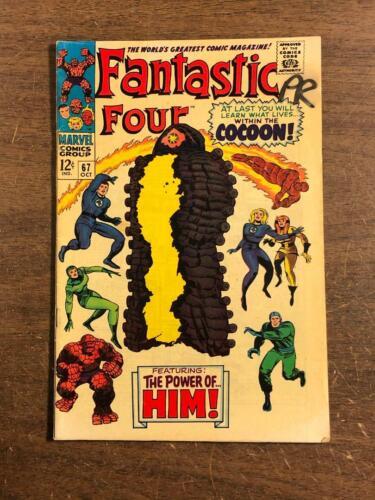 Fantastic Four #67 Marvel 1967 1st First Appearance Of HIM Warlock Marvel Comics