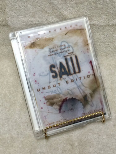 Autographed SAW signed x3 DVD