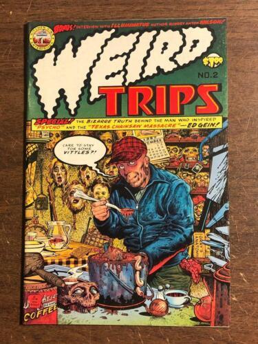 Weird Trips #2 Comic Ed Gein Serial Killer 1978 Kitchen Sink Comics