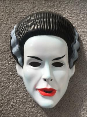 Frankenstein Mask For Kids (The Bride of Frankenstein Adult Child Kids PVC Costume Mask Rubies Licensed)