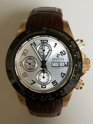 Invicta Reserve 45mm Speedway Swiss Automatic Valjoux 7750 w/Leather Strap-10940