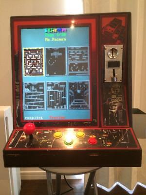 Used, game arcade machine 60 games console pac man