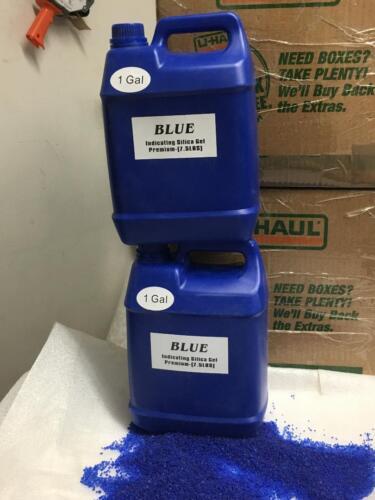 2 Gallon(15 LBS) Premium Blue Indicating Silica Gel Desiccant Beads