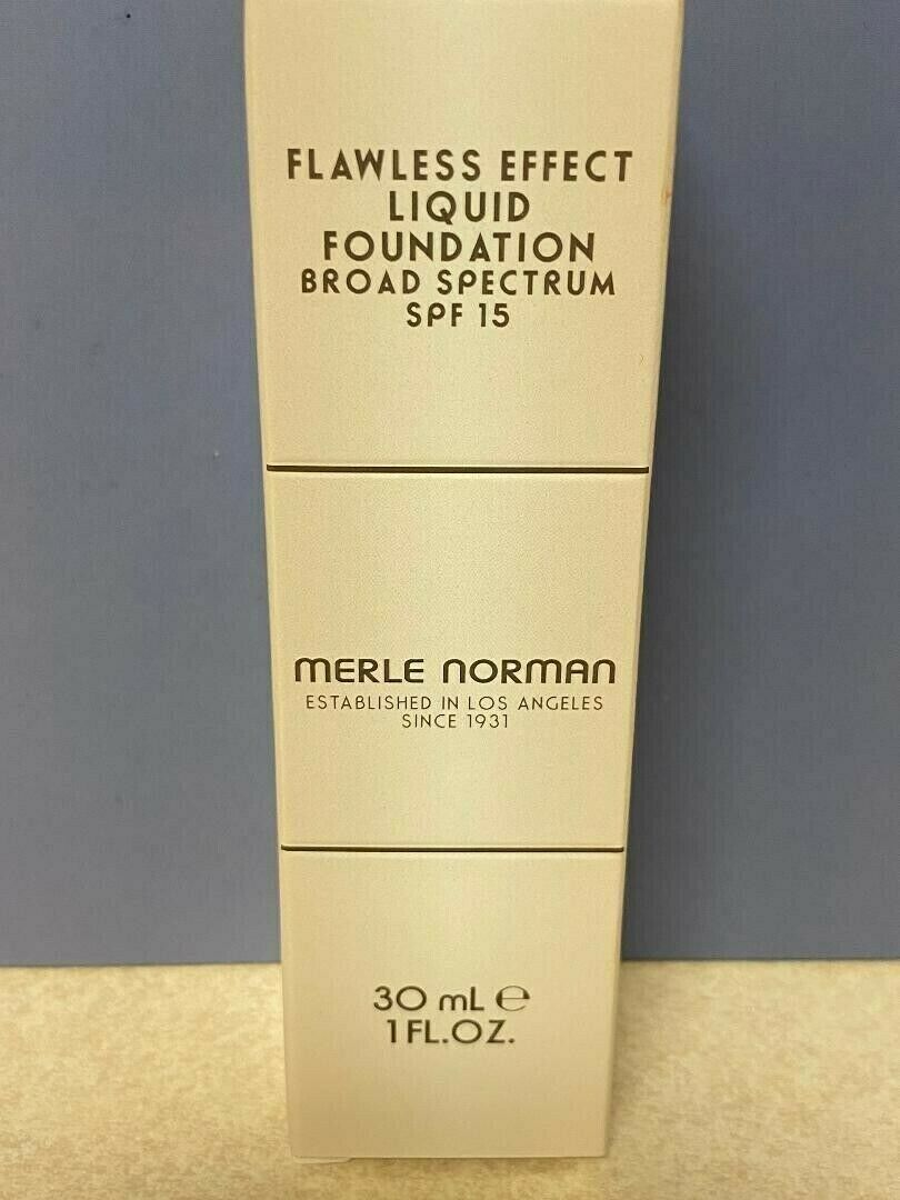 Merle Norman Flawless Effect Liquid Foundation...ML42....NEW - $35.00
