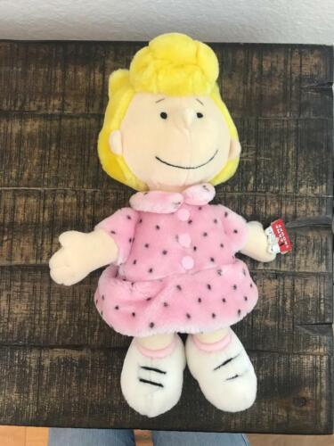 """peanuts sally plush doll 13"""" tall"""