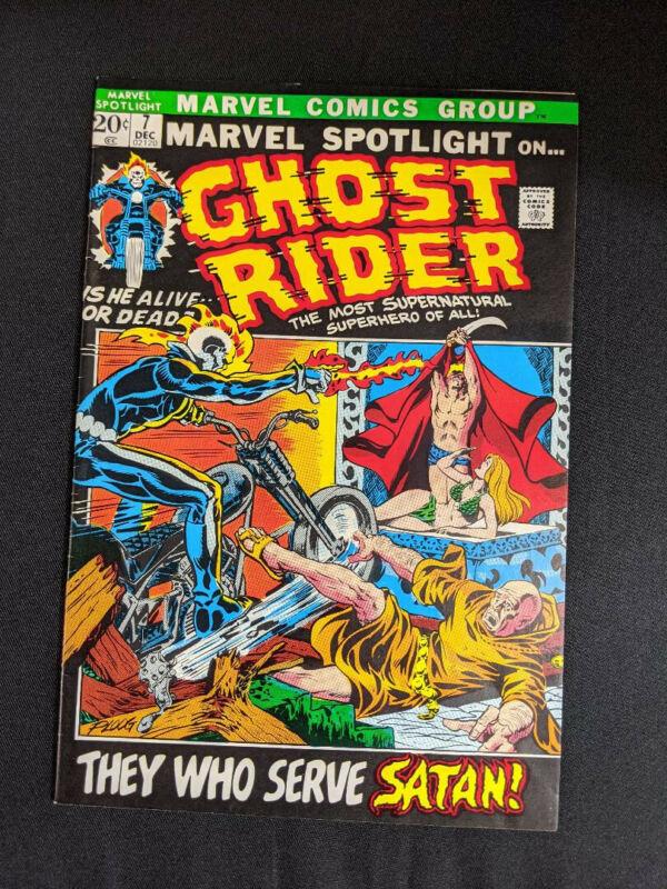 Marvel Spotlight #7, First Appearance of Satan