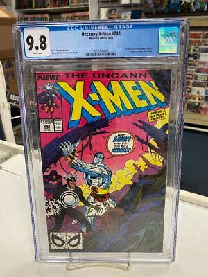 UNCANNY X-MEN #248 (1st Printing) CGC Graded 9.8! ~WHITE Pages