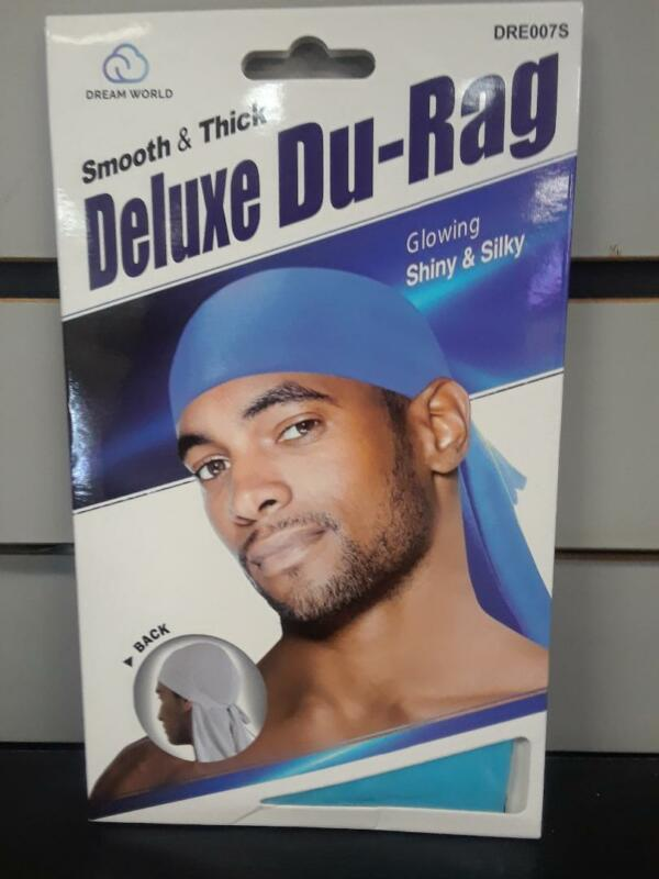 Shiny /& Silky Deluxe DuRag Set of 2 Orange /& Purple Smooth /& Thick
